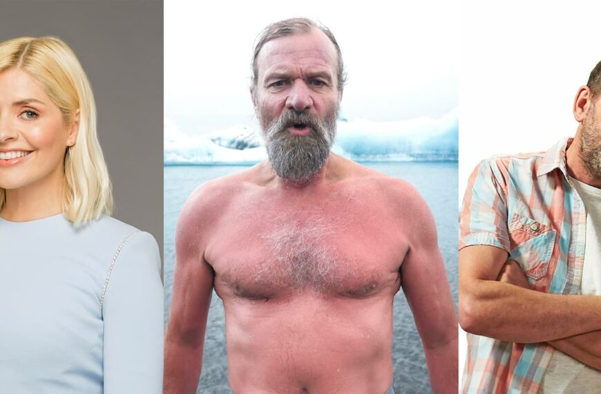 Lee Mack & Holly Willoughby To Host New Series Wim Hof's Superstar Survival In 2022