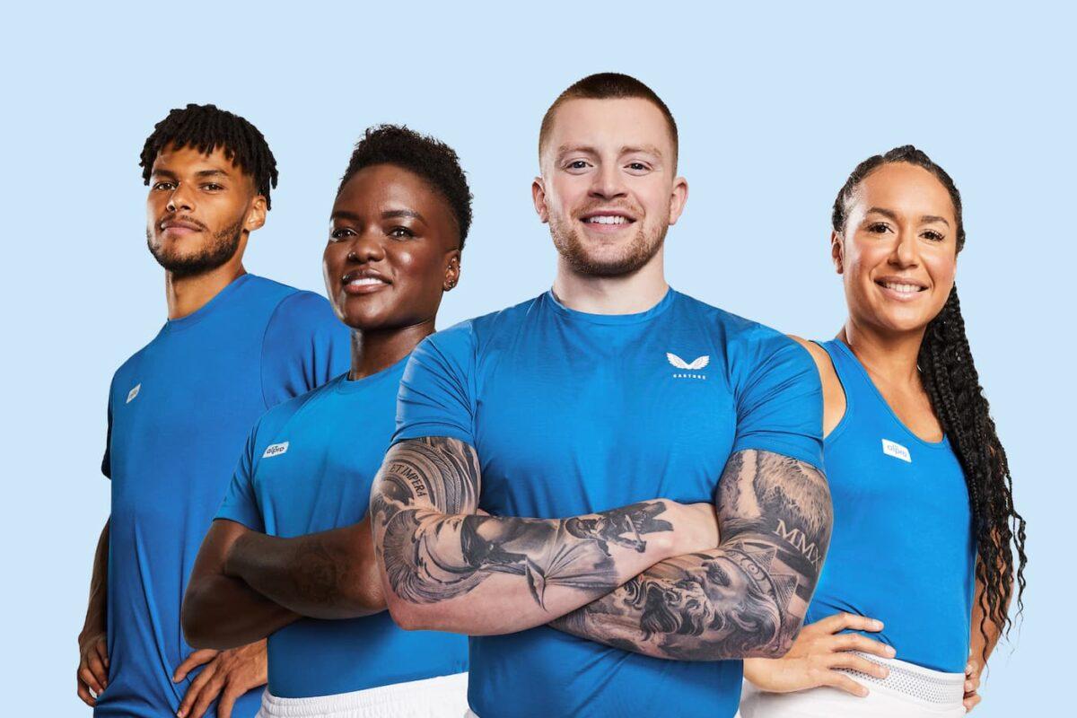 "British Sport Stars Peaty, Adams, Mings and Watson Team Up To Form ""Team PB"""