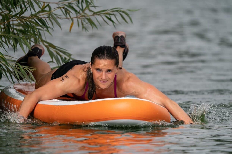 Aimee Cringle Paddleboard