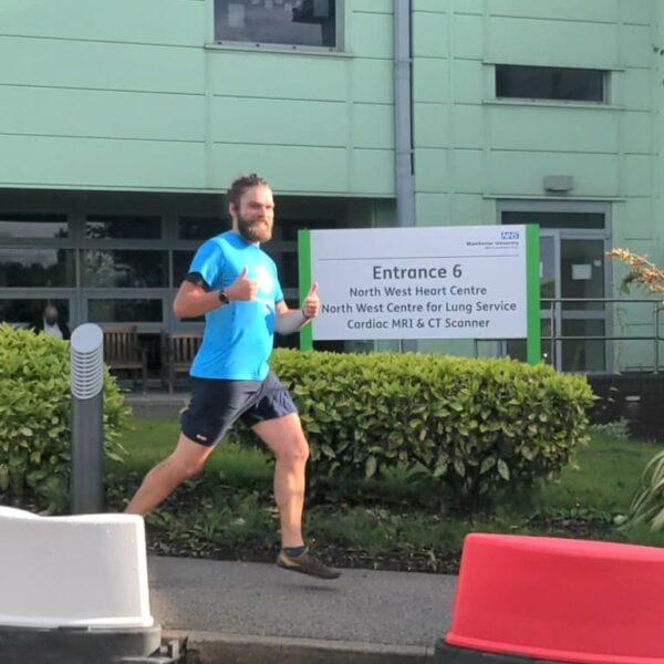 Runner Thanks NHS Teams Who Saved His Life