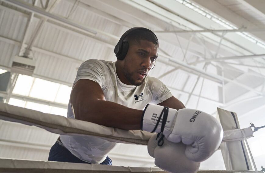 Anthony Joshua's Personalised Walkout Song