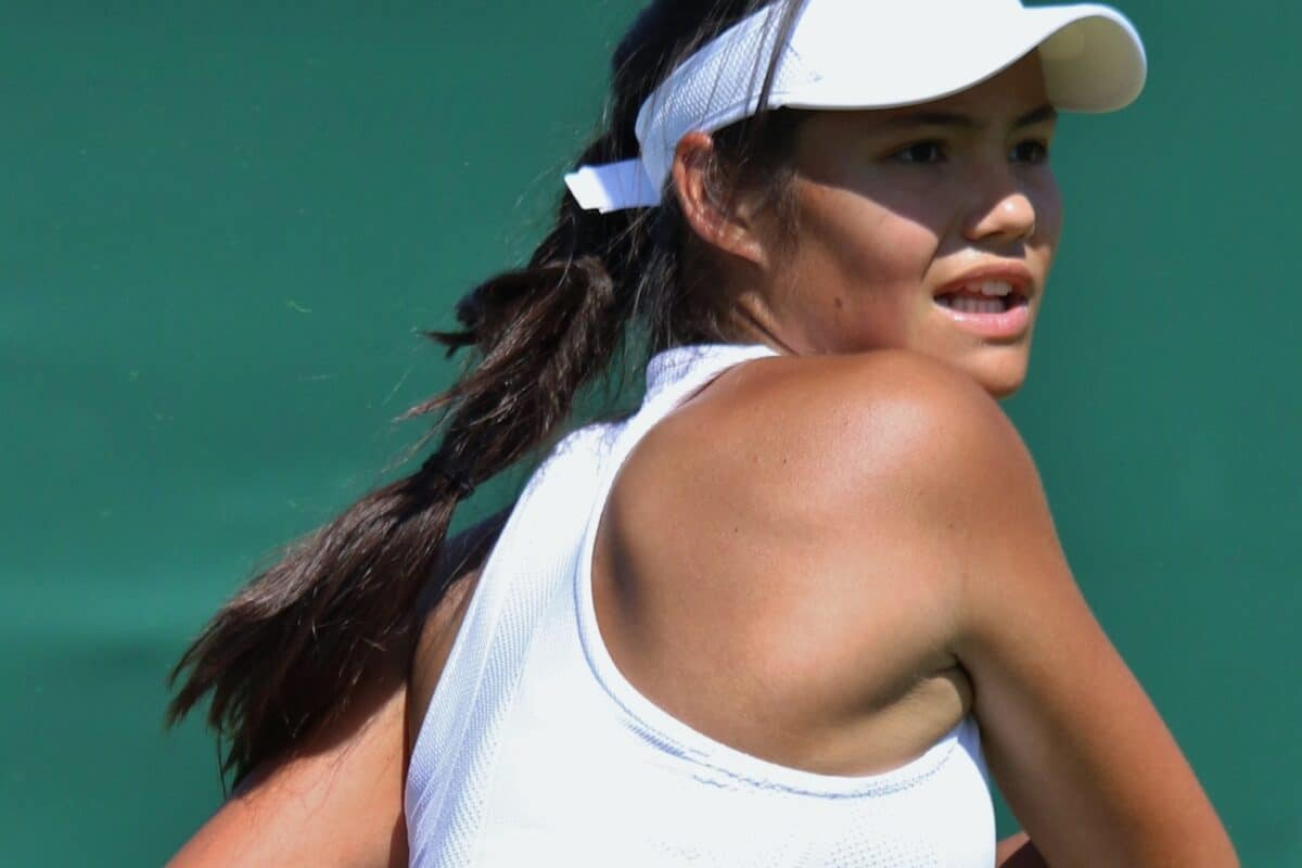 Emma Raducanu's Success at The US Open Sparks Surge In Searches For Tennis Lessons
