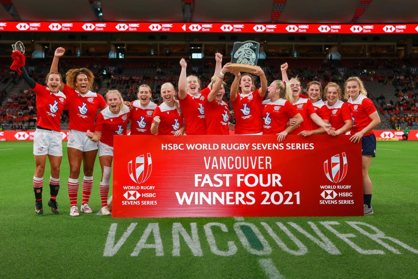 Great Britain Women Victorious In Vancouver