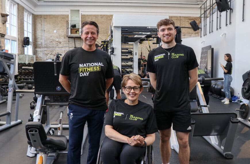 Matty Lee, Tanni Grey-Thompson and Nigel Huddleston Call For Nation To Get Moving As Millions Join National Fitness Day 2021 Celebrations