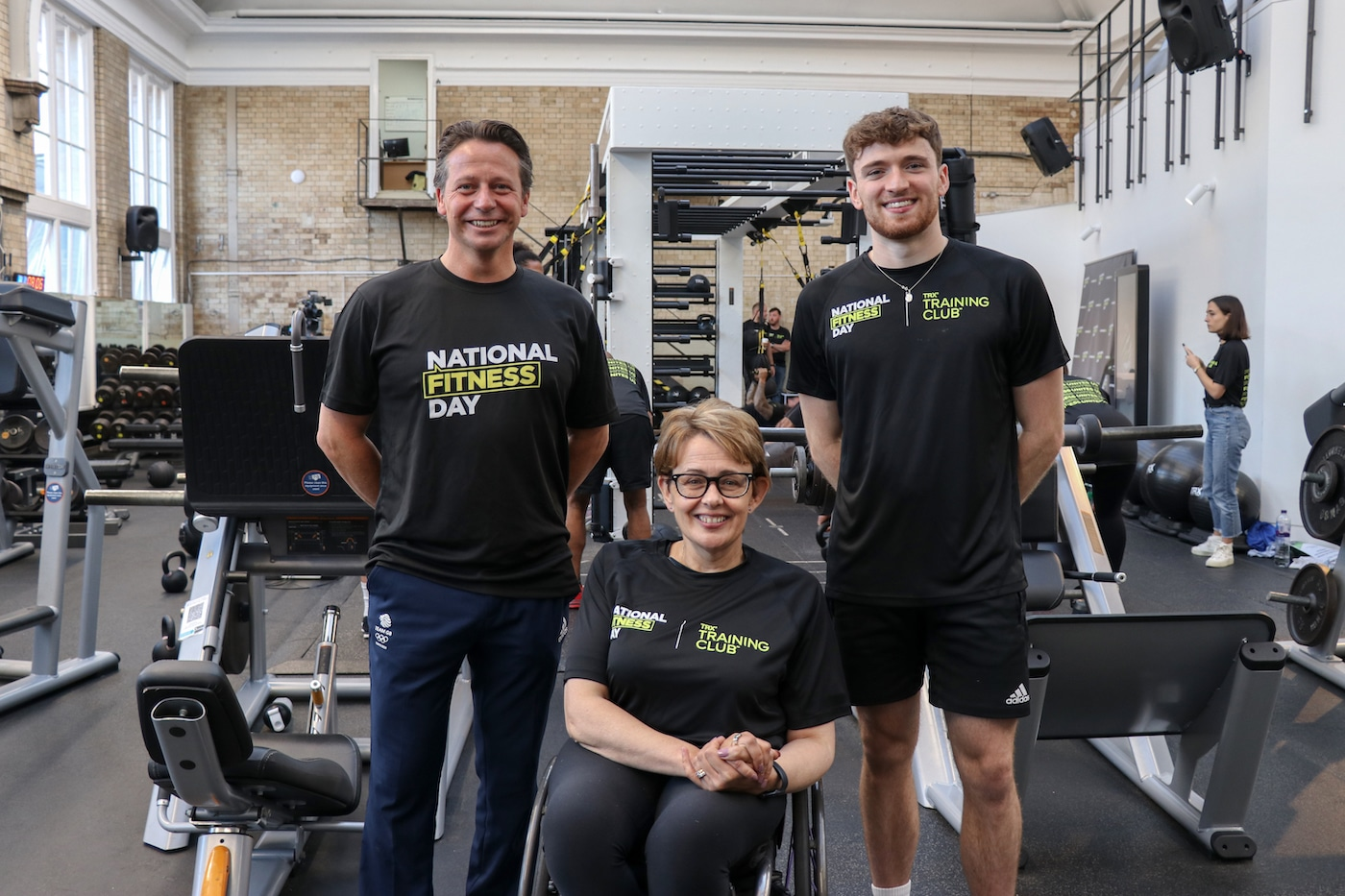 Matty Lee Tanni Grey Thompson and Nigel Huddleston call for nation to get moving 2