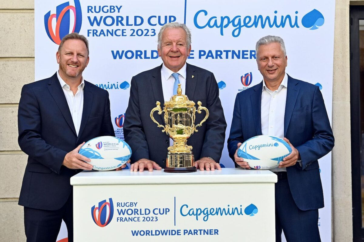 World Rugby and Capgemini Announce Transformational Rugby World Cup 2023 Worldwide Partnership