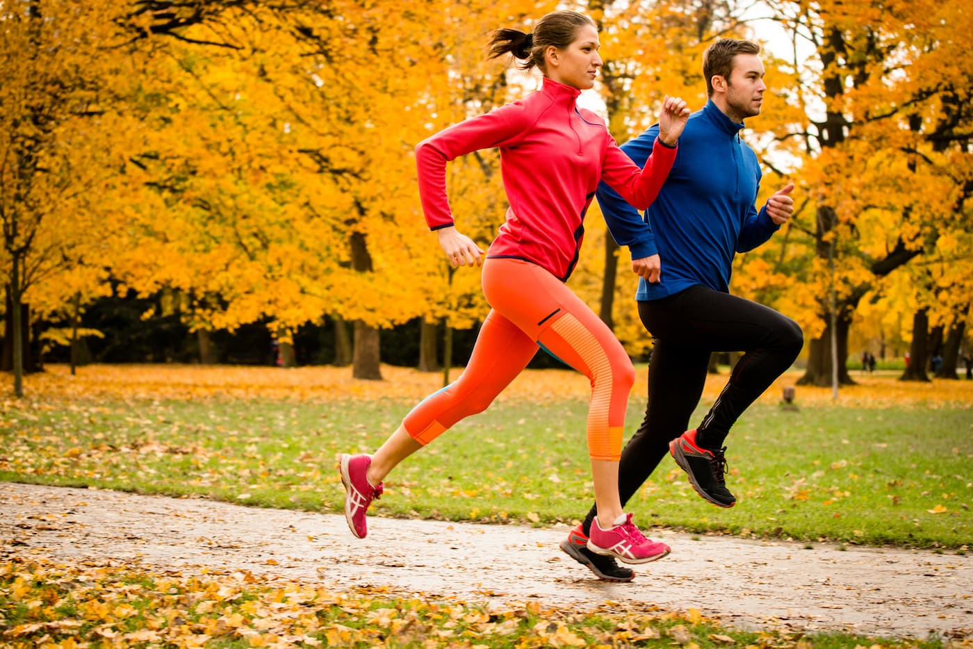 Diet And Fitness Steps for autumn