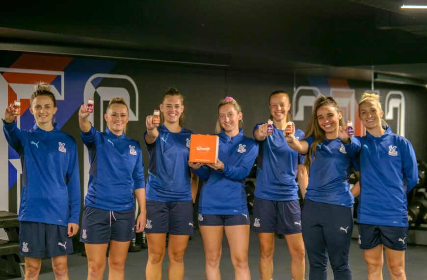 Palace Women Make Commitment To Players Crystal Clear With The Turmeric Co. Partnership