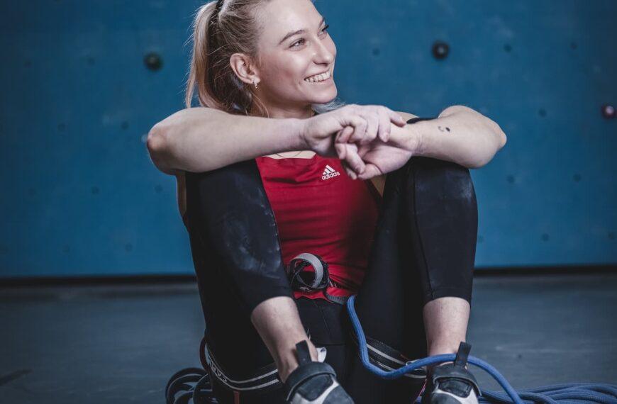 Janja Garnbret Wins The Women's All-Around Climbing Gold And Earns Herself A Deserved Spot Among The Climbing Greats