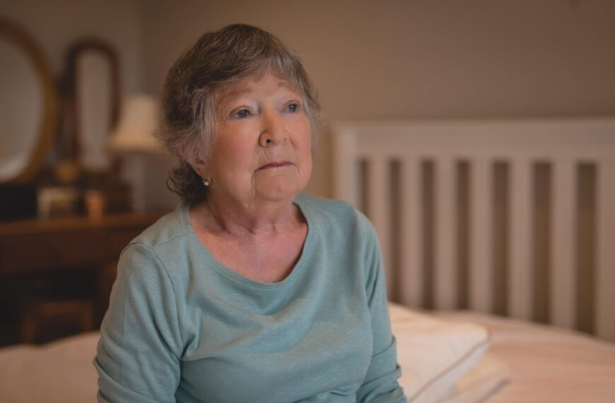 Dear Fiona: After Her Fall, My 76-year-old Mother Is Terrified Of Being Left Alone