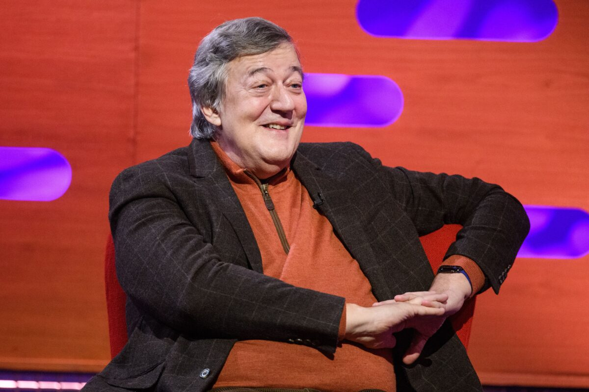 Stephen Fry Backs New Campaign Warning Of The Signs For Abdominal And Urological Cancer