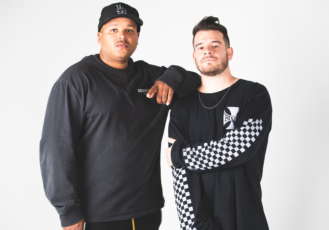 Dominic DJ Jordan and Jimmy Giannos