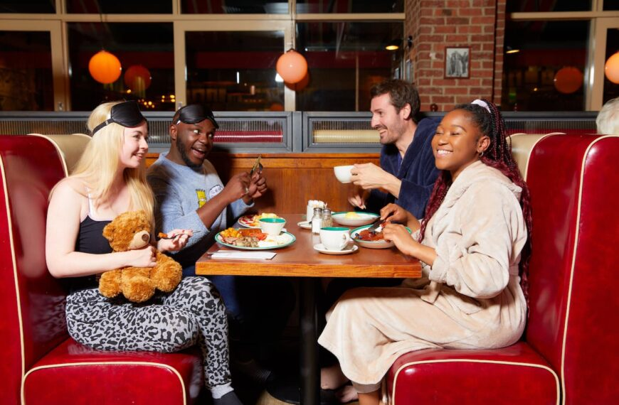 Frankie & Benny's Launches New Breakfast Menu With Free Brekkie If You Wear Your Pjs