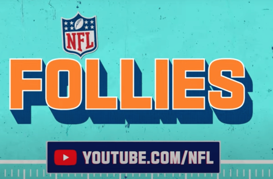 NFL Media Launches Second Original Series 'NFL Follies' Exclusively on YouTube