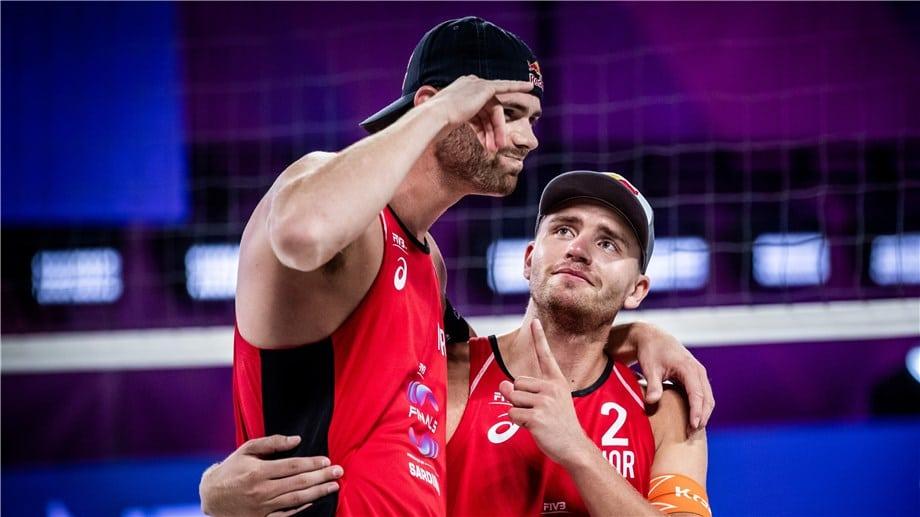Norways Anders Mol and Christian Sorum