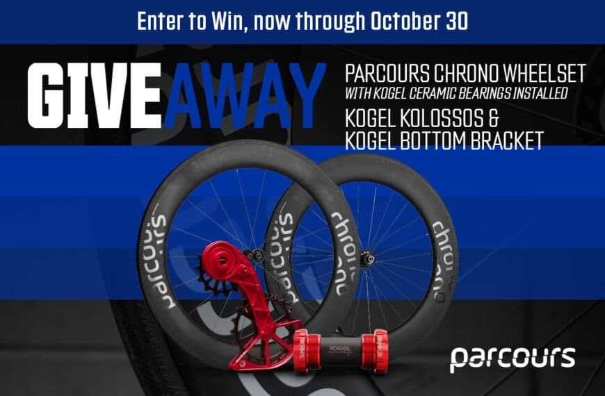 Parcours And Kogel Bearings Partner To Offer The Ultimate Triathlon Bike Upgrade Package
