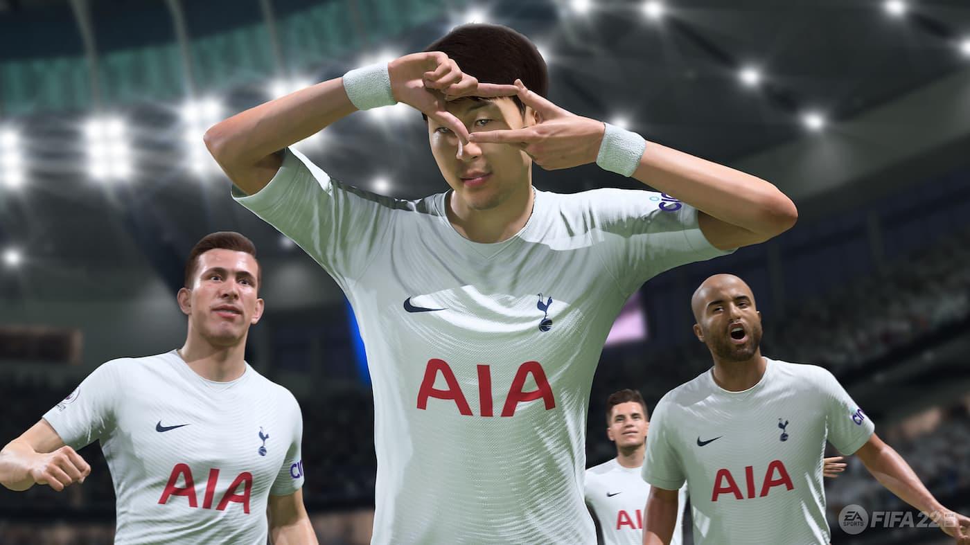 Son on Fifa 22