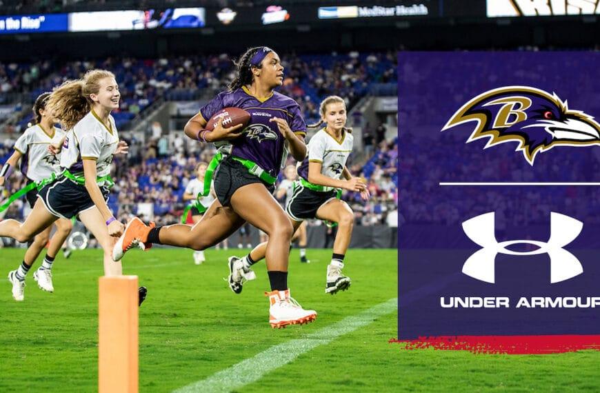 Baltimore Ravens & Under Armour Partner To Create High School Girls Flag Football
