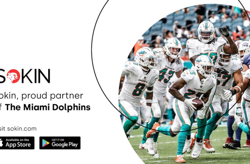 Sokin Signs Miami Dolphins As Its First NFL Partner